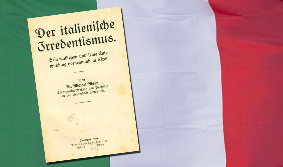 Welschtirol und der italienische Irredentismus (Teil 1)