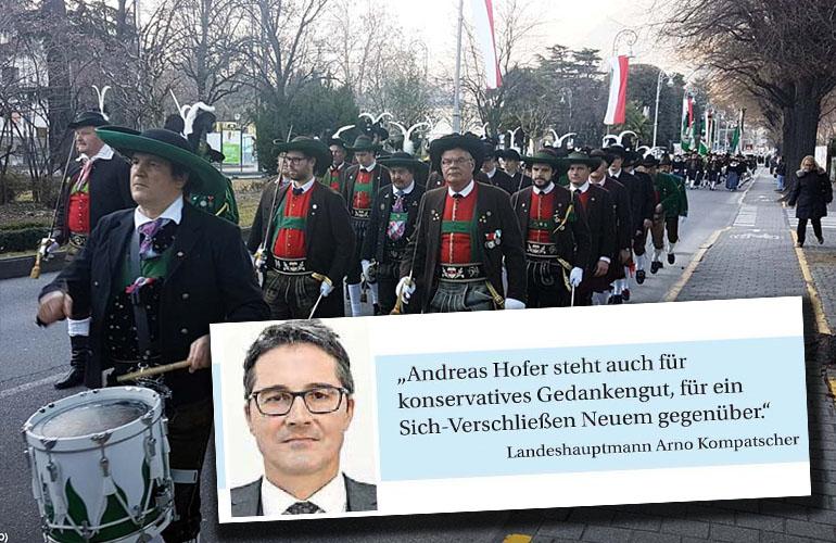 Das schwierige Gedenken an Andreas Hofer