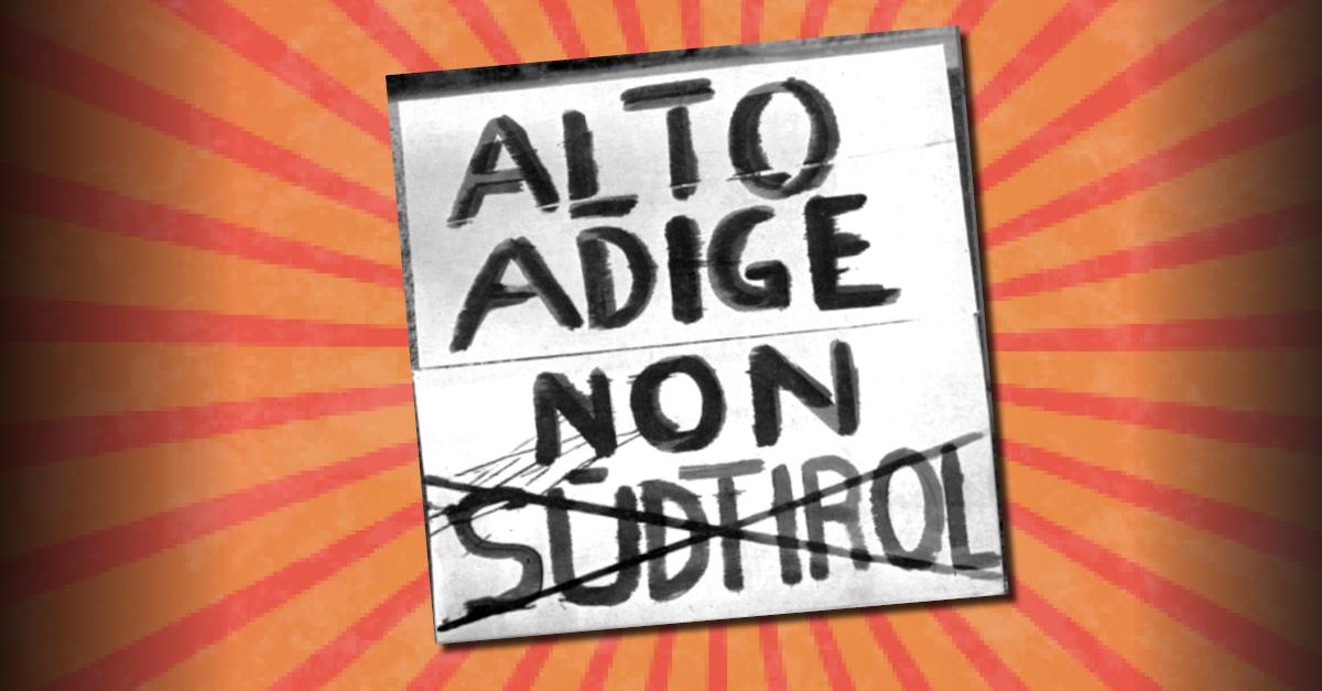 """Südtiroler Landtag holt faschistische Bezeichnung """"Alto Adige"""" in ein Landesgesetz zurück"""