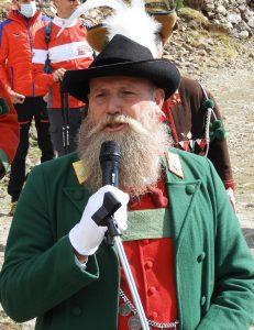 Der Südtiroler Landeskommandant Wirth Anderlan fand klare Worte