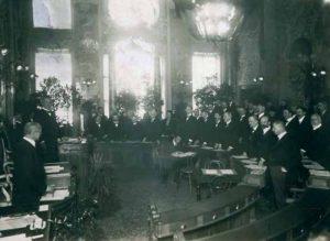Die Trauersitzung des Tiroler Landtages am 16. November 1920