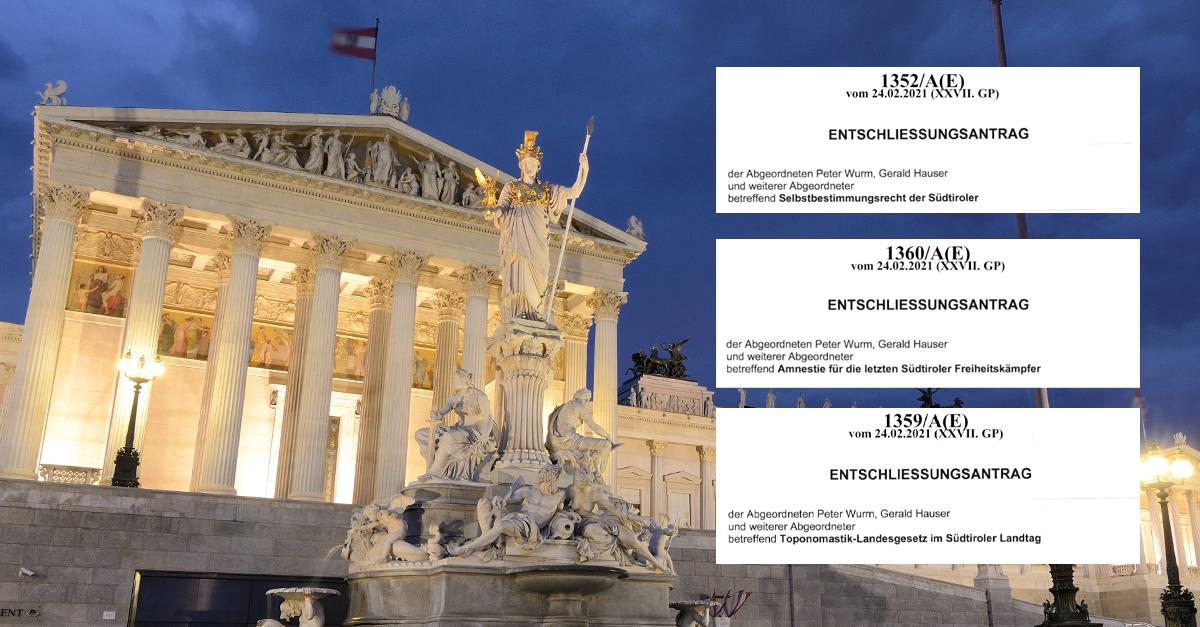 Österreichische Bundesregierung soll Farbe bekennen!
