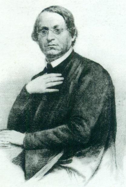 Benediktinerpater Beda Weber, der im Jahr 1833 in der Burg Obermontani die wertvolle Handschrift gefunden hat.