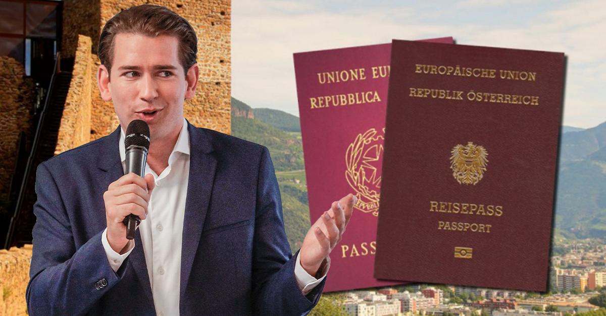 Doppelstaatsbürgerschaft für Südtiroler von Kanzler Kurz beerdigt