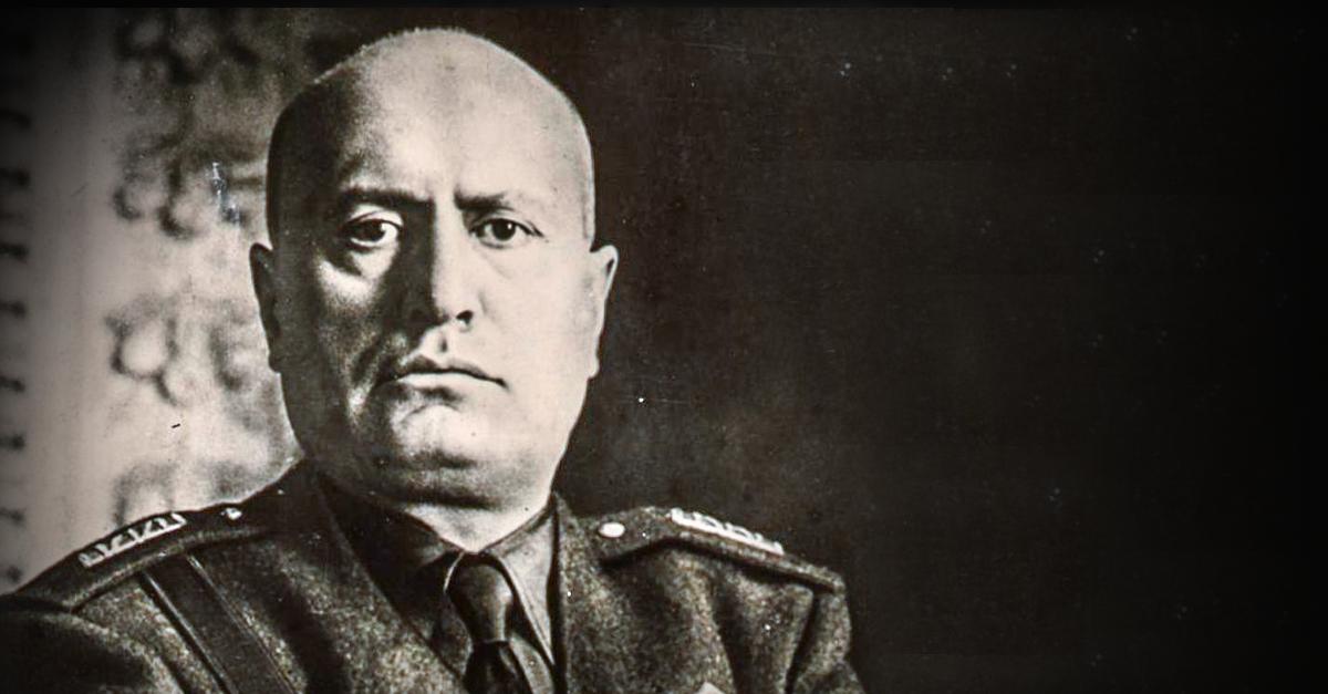 Mussolini bleibt Ehrenbürger in zahlreichen italienischen Gemeinden